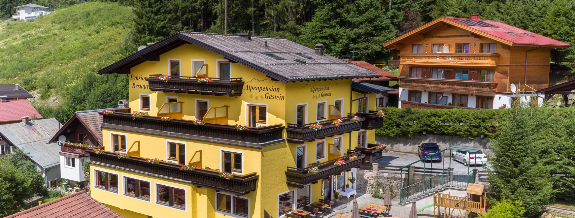 Alpenpension Gastein, Bad Gastein, Pension und Restaurant